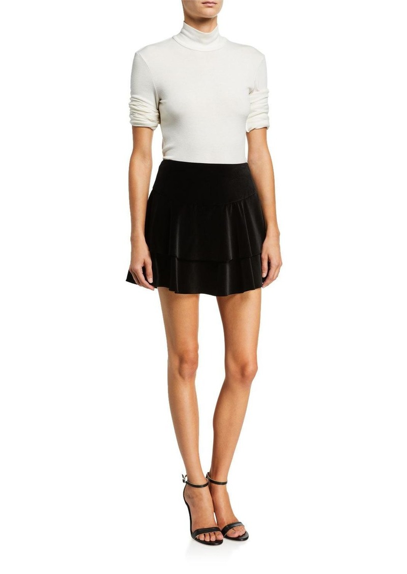Alice + Olivia Paloma Ruffle Skirt