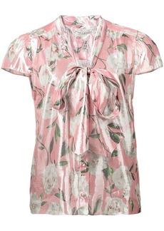 Alice + Olivia peony print blouse