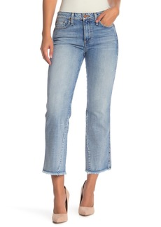 Alice + Olivia Perfect Cropped Kick Flare Jeans