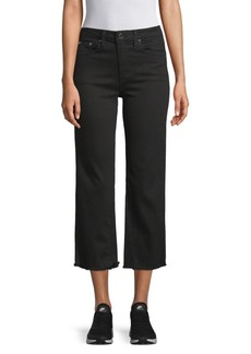 Alice + Olivia Perfect Cropped Kick Jeans