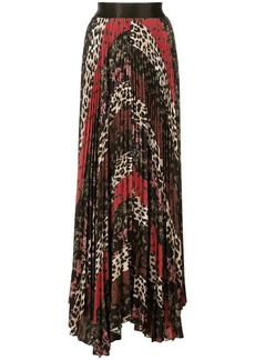 Alice + Olivia pleated maxi skirt