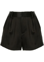 Alice + Olivia pleated short shorts