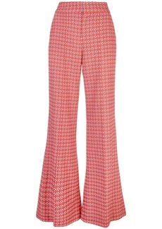 Alice + Olivia printed palazzo trousers