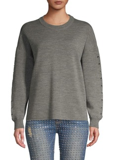 Alice + Olivia Quintin Wool Sweater