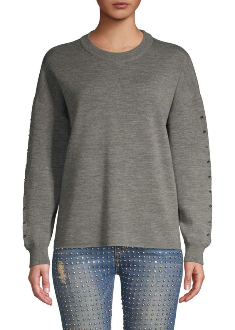 Alice + Olivia Quintin Wool Sweater