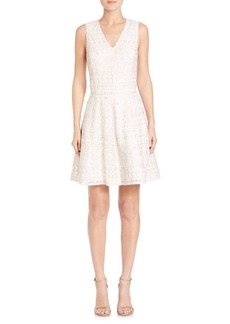 Reba Embroidered Dress