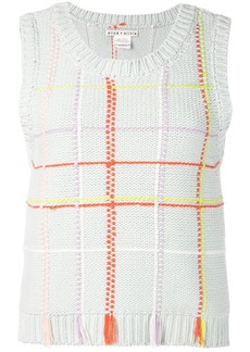 Alice + Olivia Rosalina knitted top
