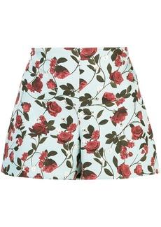 Alice + Olivia Sherri rose shorts