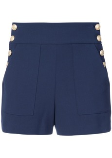 Alice + Olivia side buttons shorts