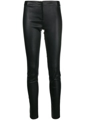 Alice + Olivia skinny leather trousers
