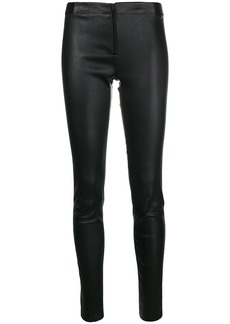 Alice + Olivia skinny leather trousers