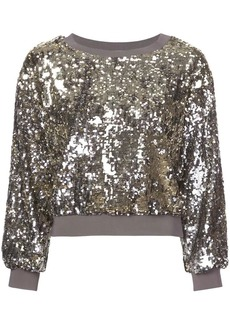 Alice + Olivia Smith cropped sweater