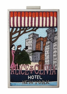 Alice + Olivia Sophia Matchbox Hotel New York North/South Clutch