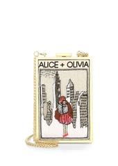 Alice + Olivia Sophia New York Vintage Clutch
