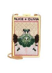 Alice + Olivia Sophia Vintage Convertible Clutch