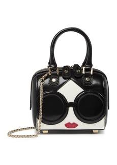 Alice + Olivia Stace Face Mini Olivia Leather Bag