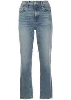 Alice + Olivia straight-leg jeans