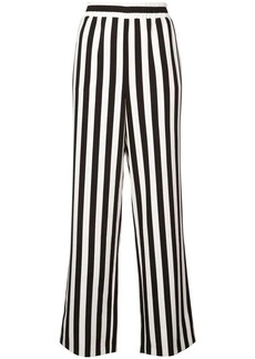 Alice + Olivia striped high-waist trousers
