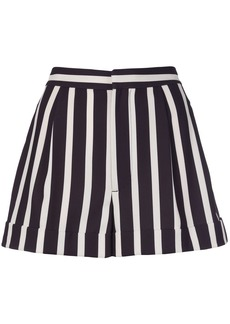Alice + Olivia striped-print tailored shorts