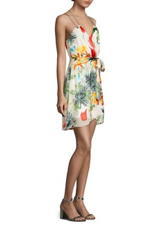 Alice + Olivia Susana Faux Wrap Dress