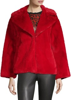 Alice + Olivia Thora Faux Fur Jacket