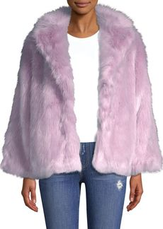 Alice + Olivia Thora Oversize Faux-Fur Coat