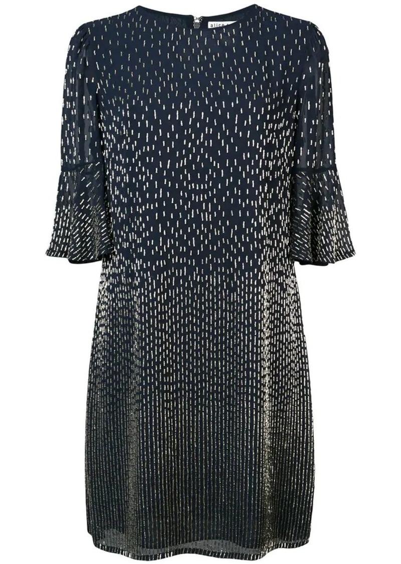 Alice + Olivia Thym embellished dress