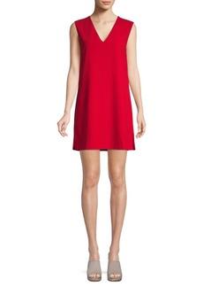 Alice + Olivia Tie-Back Mini Shift Dress