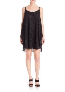 Alice + Olivia Tiered Tank Shift Dress