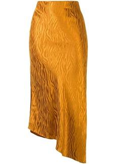 Alice + Olivia tiger-print slip skirt