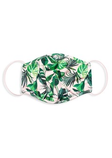 Alice + Olivia Tropical Print Face Mask
