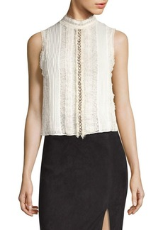 Alice + Olivia Valentine Sleeveless Top