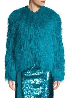 Alice + Olivia Verity Faux-Fur Coat