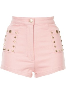 Alice Mccall Lonely Hearts shorts - Pink & Purple