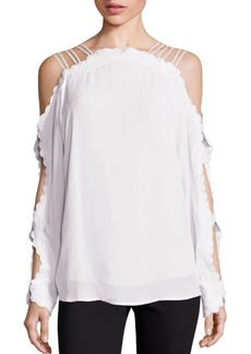 Alice McCall Another Love Cold-Shoulder Top