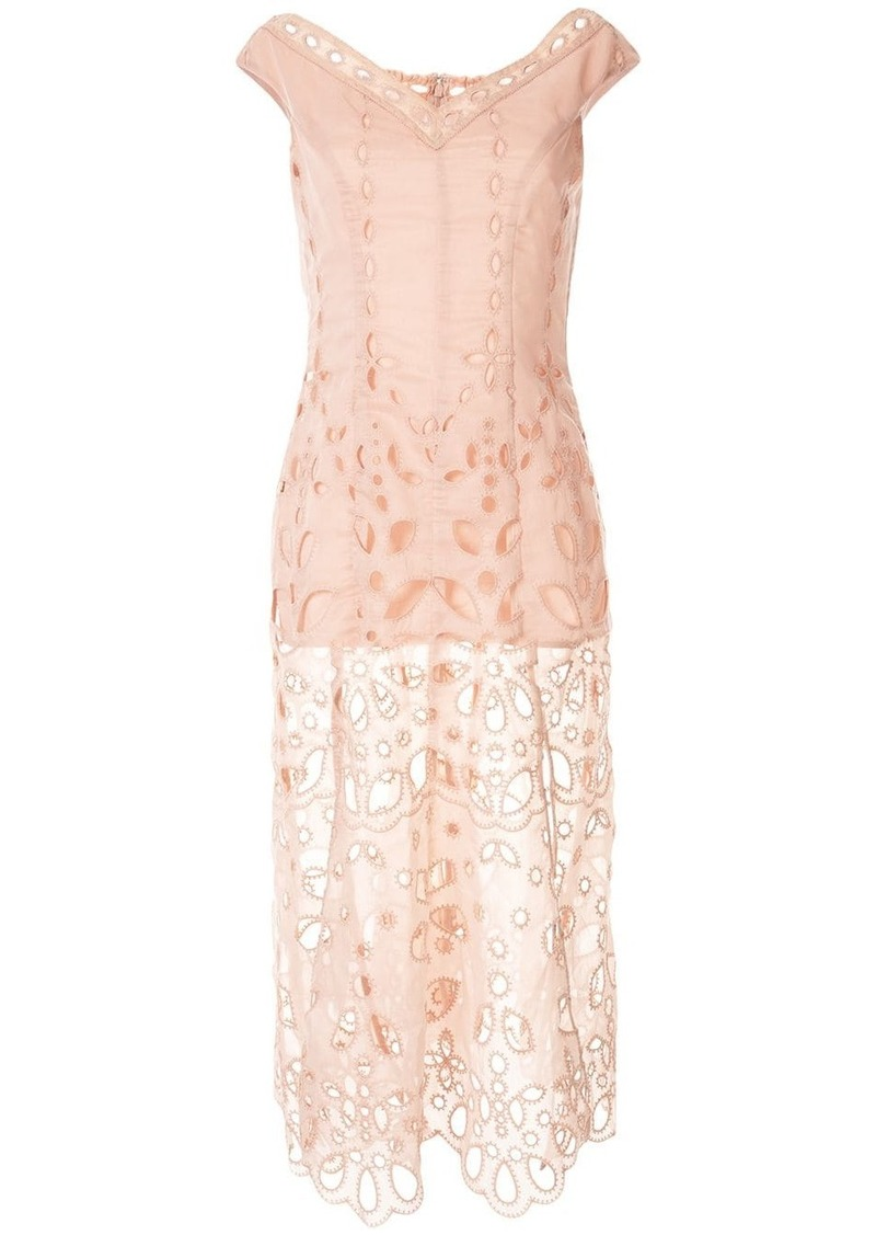 Alice McCall Baudelaire broderie anglais midi dress