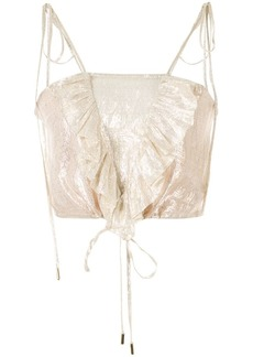 Alice McCall Champers ruffled cami