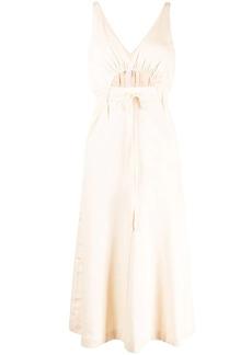 Alice McCall cut-out drawstring waist dress
