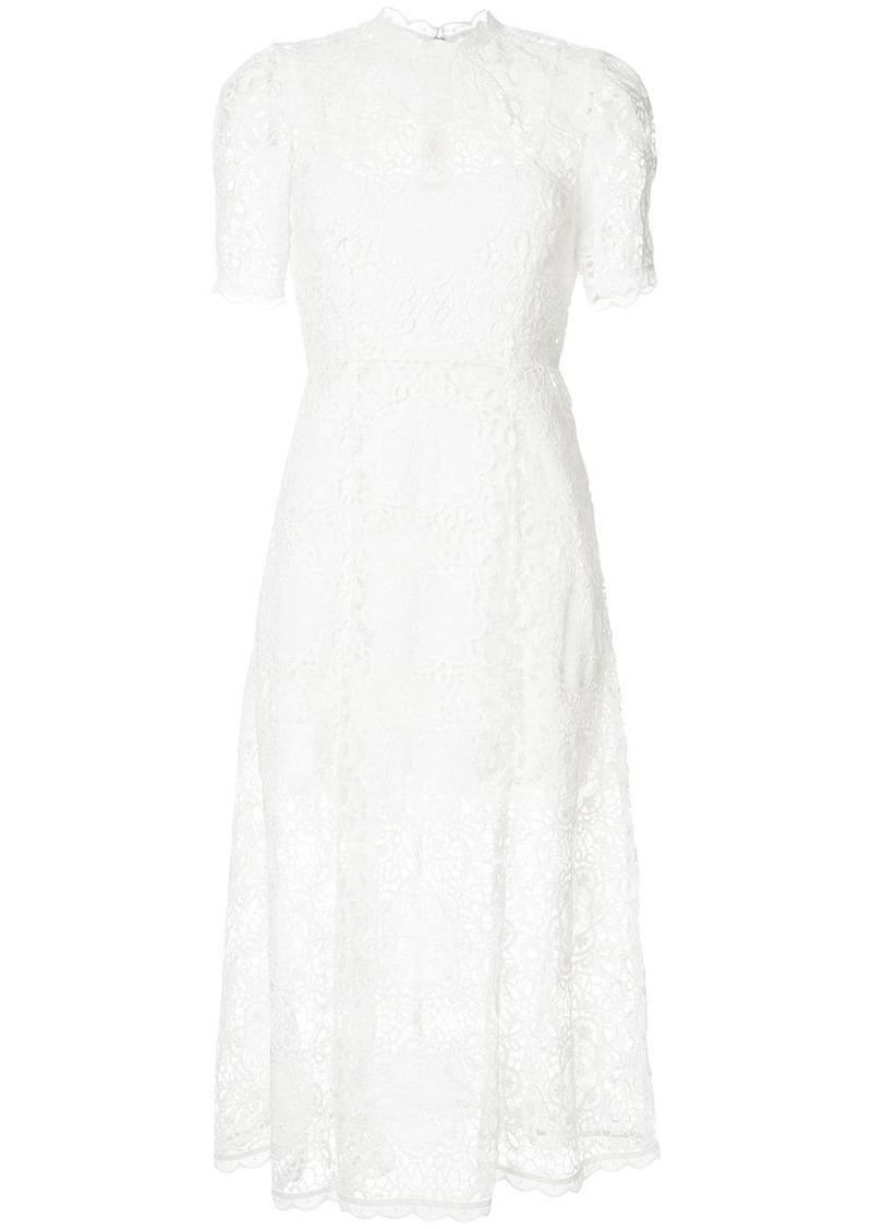 Alice McCall Diamond Veins lace midi dress
