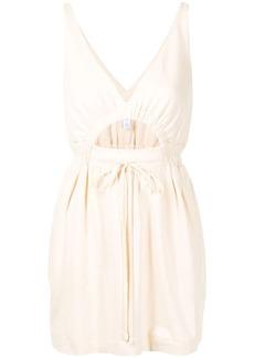 Alice McCall drawstring waist cotton minidress