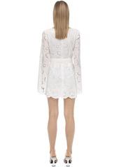 Alice McCall Eyelet Lace Mini Dress