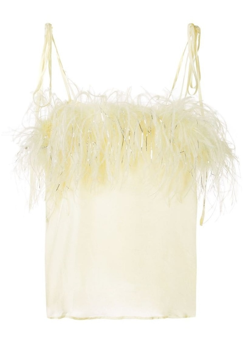 Favour feather cami