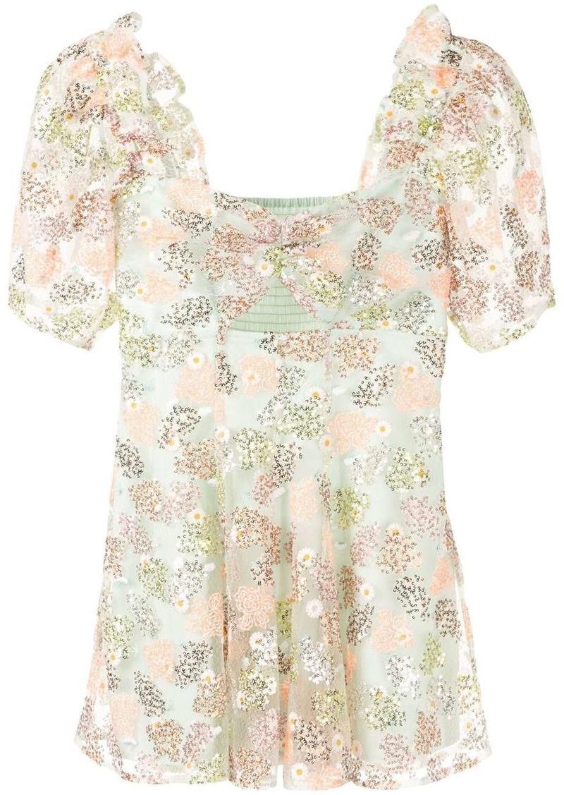 Alice McCall floral print ruffle dress
