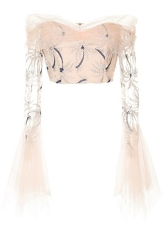 Alice McCall Haiku off-the-shoulder top