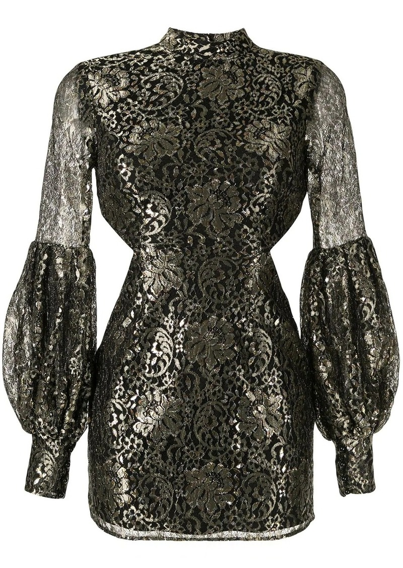 Alice McCall high neck cut-out dress