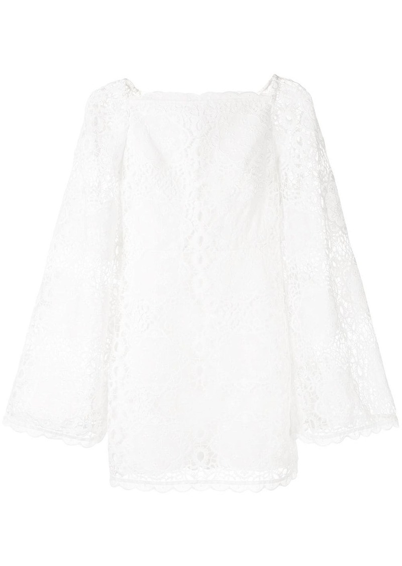 Alice McCall lace pattern dress