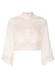 Alice McCall 'Love Take Over' crop top