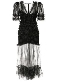 Alice McCall polka-dot frill dress