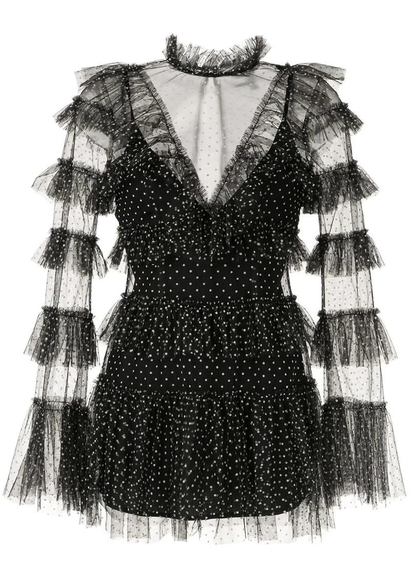 Alice McCall polka-dot tiered dress