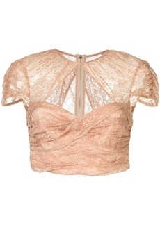 Alice McCall Sweetly cropped top